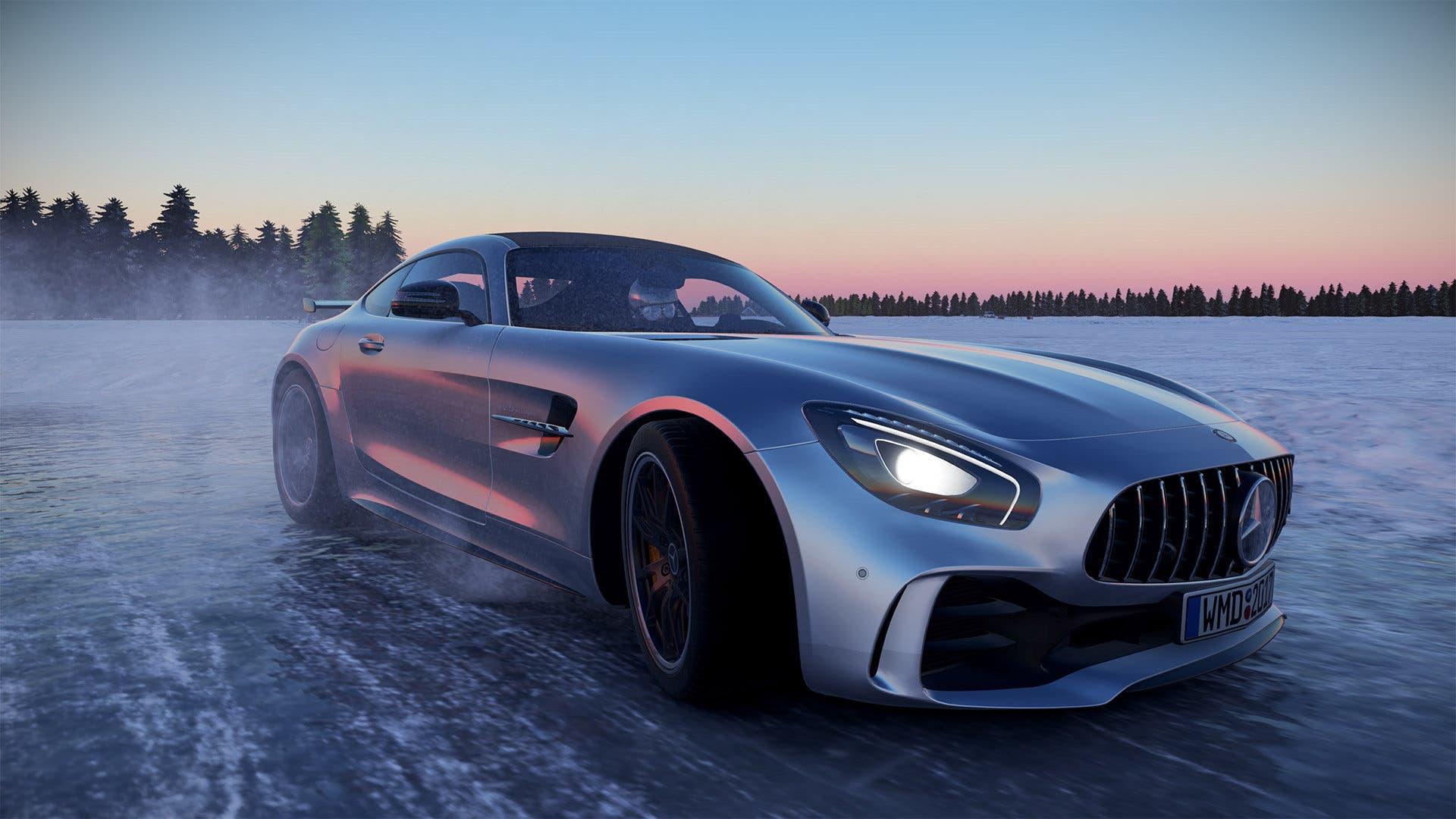 Imagen de Descubre el nuevo circuito de hielo en Project Cars 2