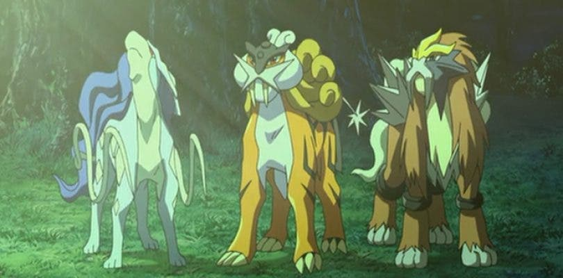 Pokémon GO da poco margen de captura al trío de perros legendarios