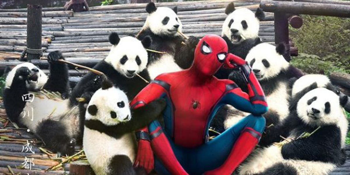 spider man homecoming chinese poster 5 feat