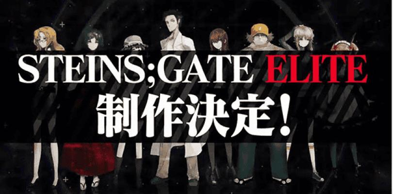 Ya hay fecha para el lanzamiento de Steins;Gate Elite en Japón