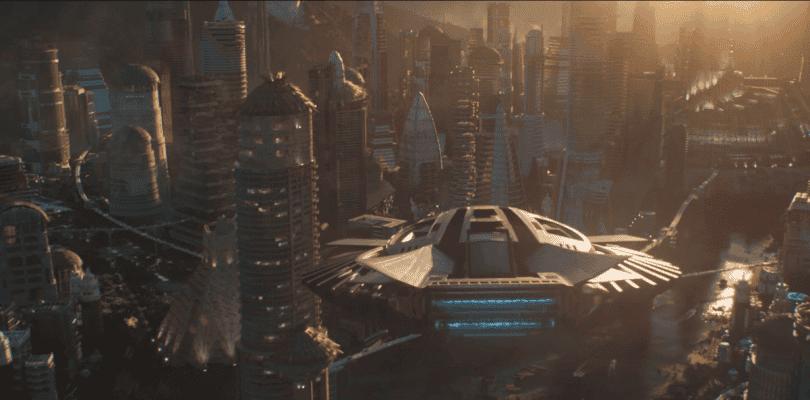 Black Panther se ha inspirado en Blade Runner para recrear Wakanda