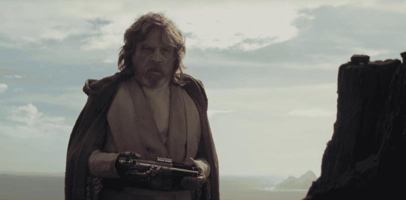 Rian Johnson quería a Luke ciego en Star Wars: Los Últimos Jedi