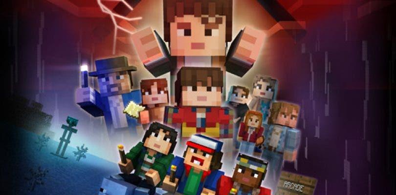 Los protagonistas de Stranger Things aterrizan en Minecraft