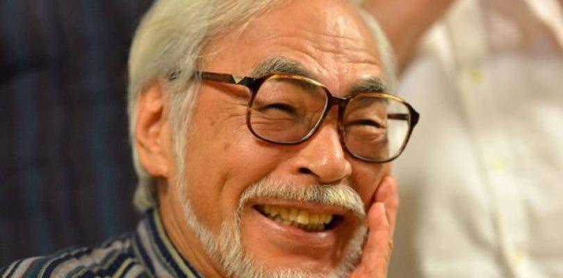 Hayao Miyazaki volvió de su retiro para que su nieto le recuerde