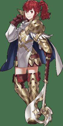 Fire Emblem Warriors Anna