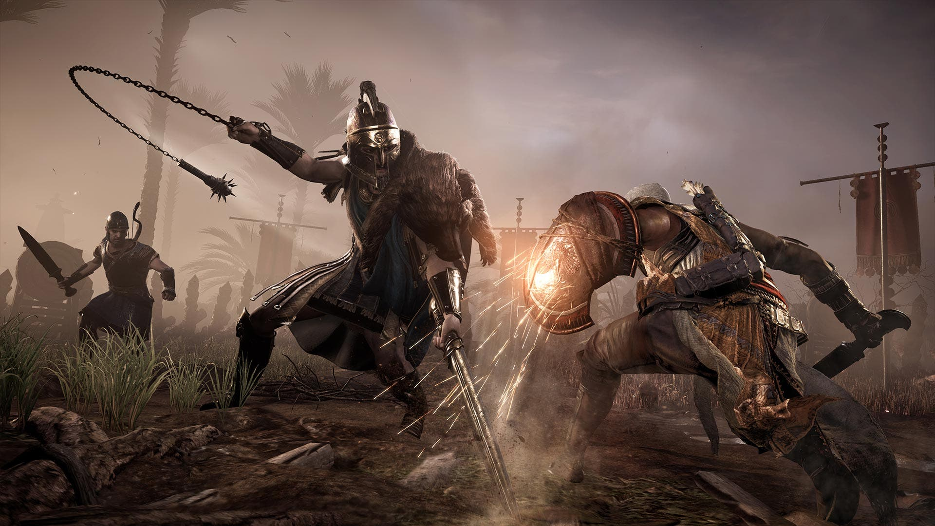 Assassins Creed: Origins lucha