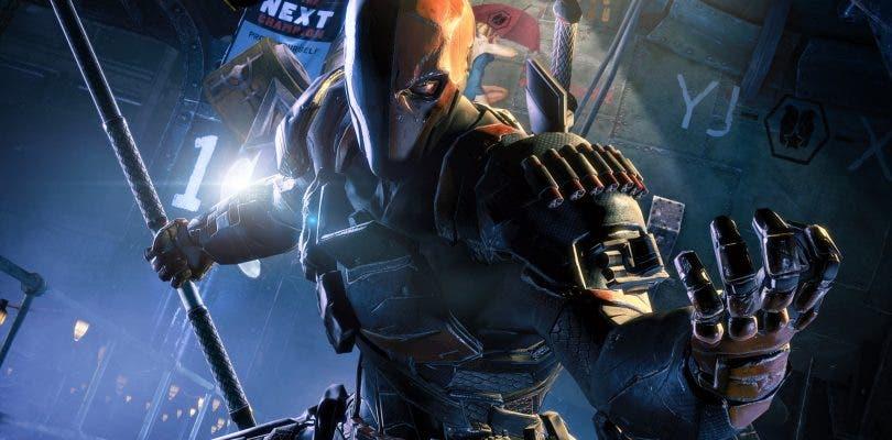 Primer vistazo en detalle de la máscara de Deathstroke