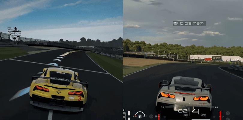 Comparan en vídeo Forza Motorsport 7 con Gran Turismo Sport