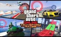 Siete nuevas carreras de metamorfosis llegan a GTA Online junto a más novedades