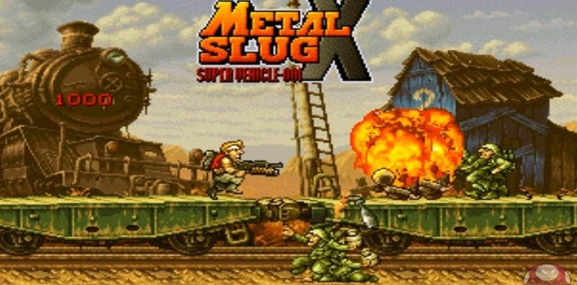 La eShop de Nintendo Switch recibirá Metal Slug X