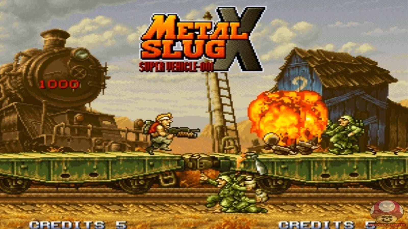 La Eshop De Nintendo Switch Recibirá Metal Slug X