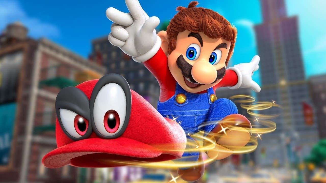 Imagen de Un fan completa Super Mario Odyssey en cinco horas con los ojos vendados