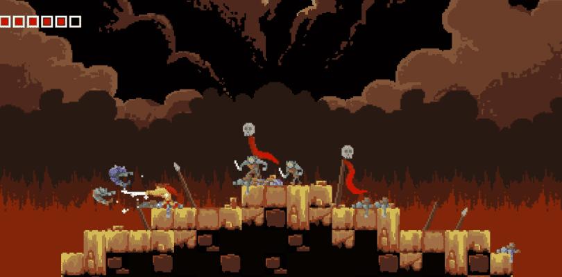 Tiny Barbarian DX ha aterrizado en Switch y lo celebra con un tráiler