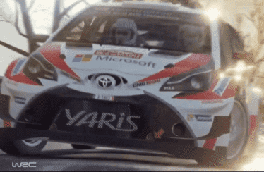 WRC 7 nos enseña al Toyota Yaris WRC en acción