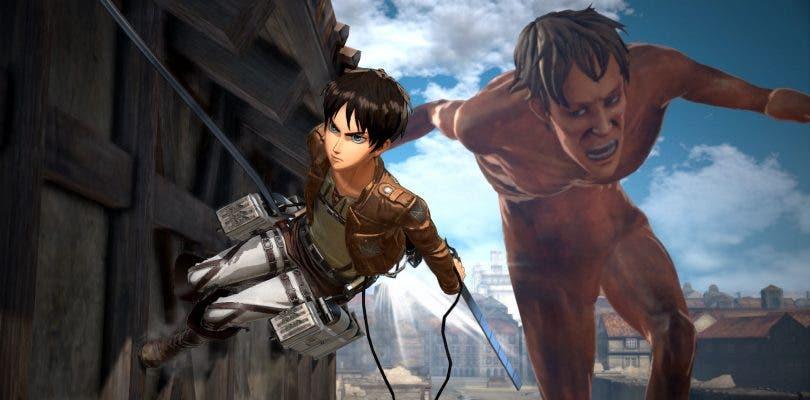 Attack on Titan 2 se muestra en nuevas e impresionantes imágenes