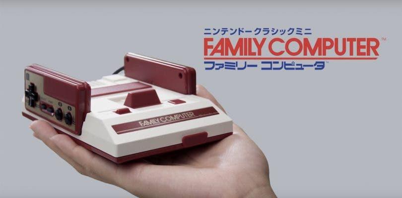 Nintendo tuvo en mente lanzar una Famicom Mini con lector físico