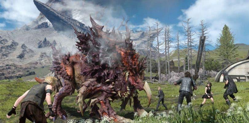 Comparación gráfica de Final Fantasy XV en Xbox one y Xbox One X