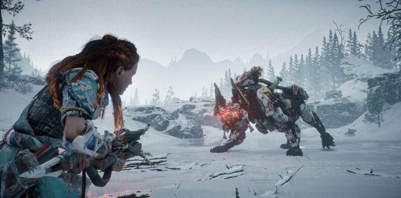 Aloy hará frente a un robot lobo de fuego en Horizon: The Frozen Wilds