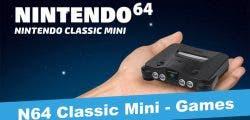 Nintendo registra la marca N64 en Japón, ¿posible Nintendo 64 Classic Mini en camino?