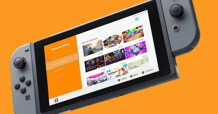 Imagen de eShop se actualiza con mejoras en la interfaz de Nintendo Switch