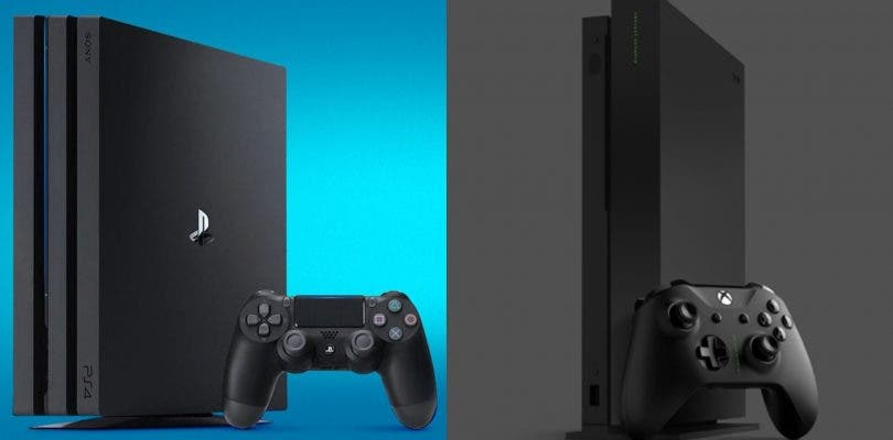 PlayStation 4 Pro Xbox One X