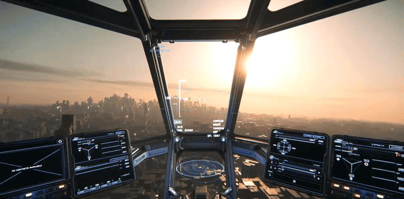 Se muestran ciudades del tamaño de planetas en Star Citizen