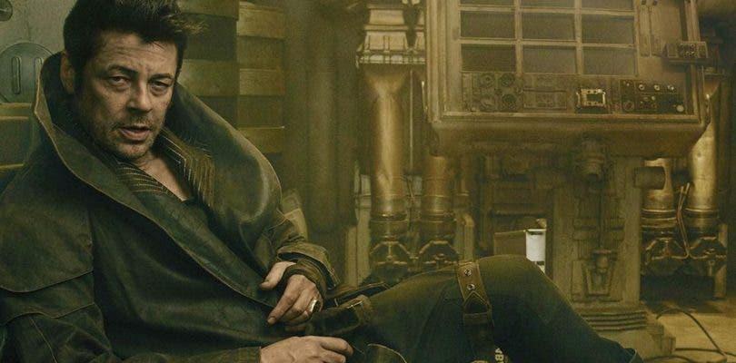 Nueva imagen de Benicio del Toro en Star Wars: Los Últimos Jedi