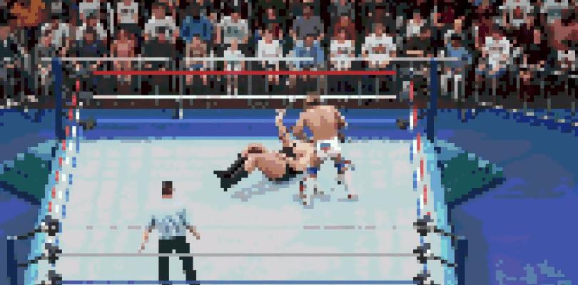 Podremos luchar en WWE 2K18 con un filtro en 8-Bits