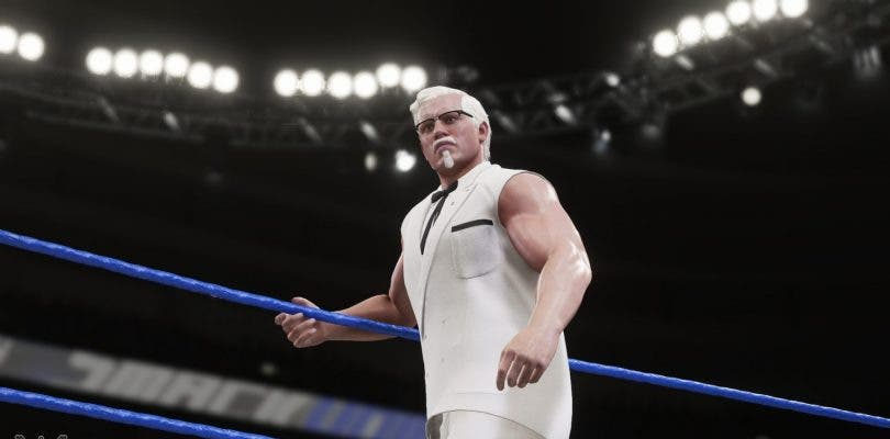 Coronel Sanders, fundador de KFC, será un luchador más en WWE 2K18