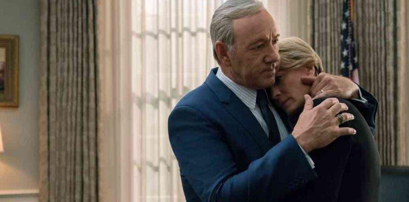 Netflix despide oficialmente a Kevin Spacey de House of Cards