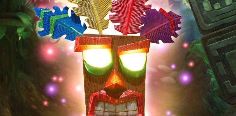 First 4 Figures anuncia la máscara Aku Aku de Crash Bandicoot