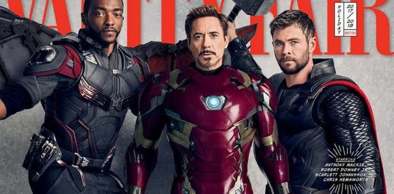 Vanity Fair une todos los héroes de Avengers: Infinity War en portada