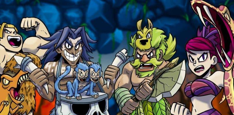 El indie español Caveman Warriors llegará a Nintendo Switch