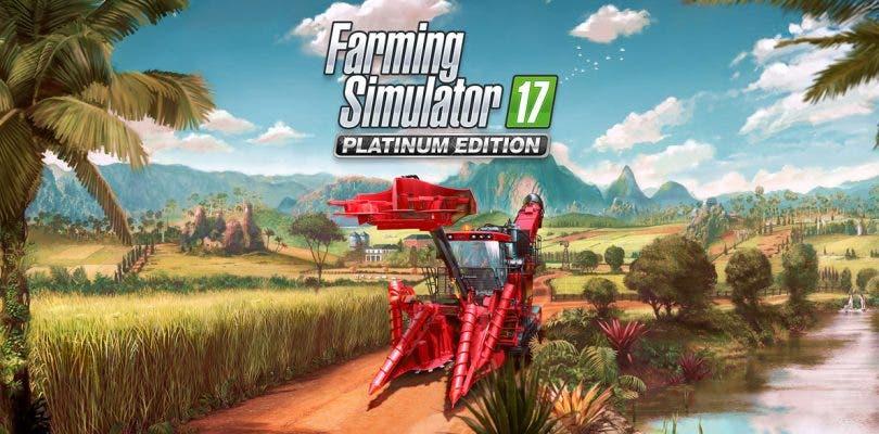 Farming Simulator 17 presenta su expansión Platinum
