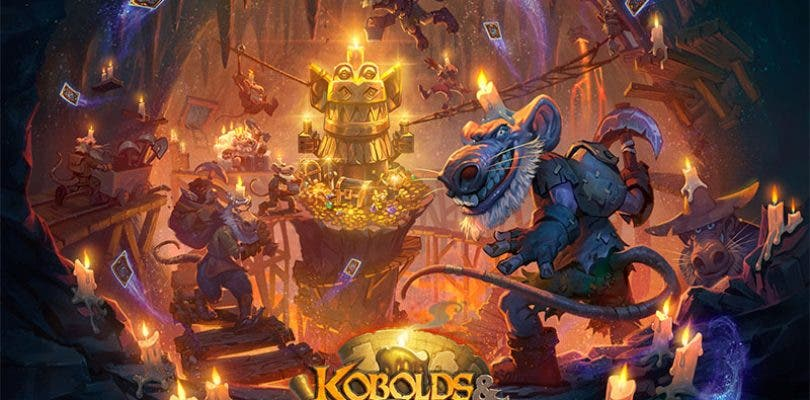 Hearthstone Kóbolds y Catacumbas portada