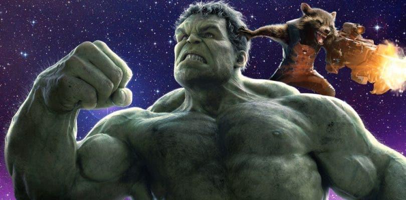 Rocket y Hulk serán amigos en Avengers: Infinity War