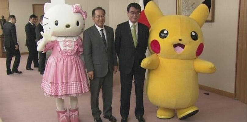 Pikachu y Hello Kitty representarán a Japón en la World Expo 2025