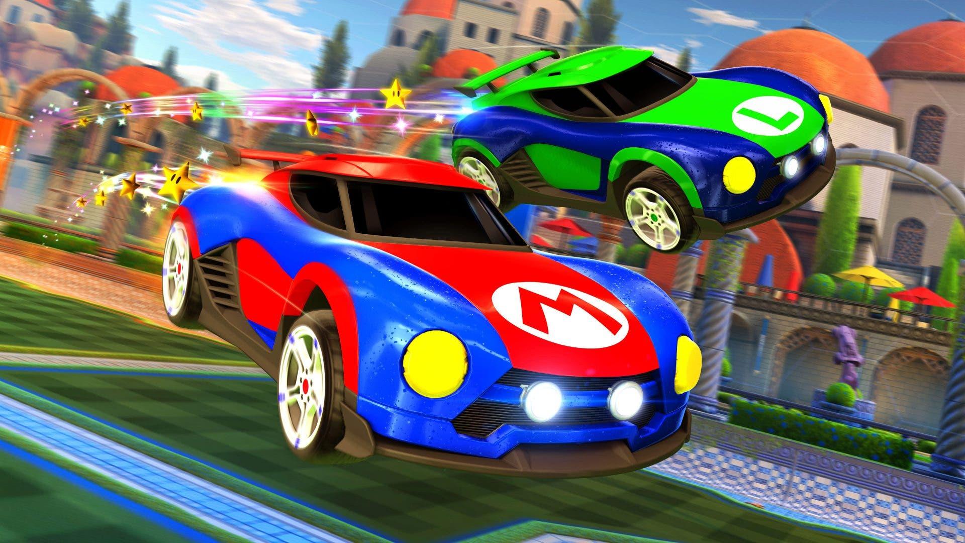 Imagen de Así son los coches de Mario y Metroid en Rocket League