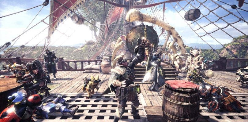 Monster Hunter World presenta su jugabilidad en acción una vez más