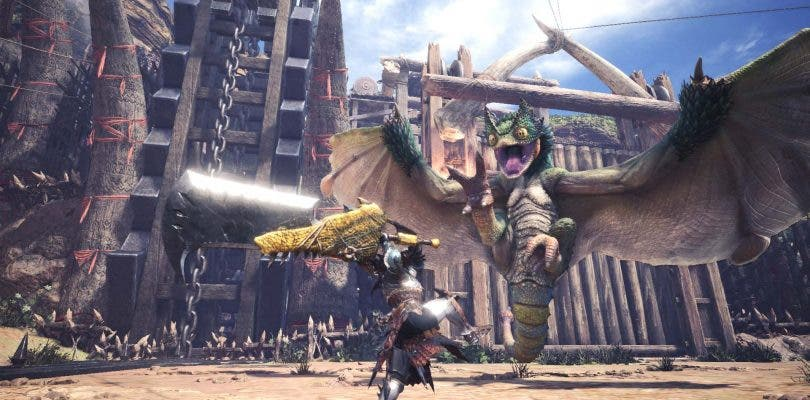 La carátula japonesa de Monster Hunter: World desvela su peso en PlayStation 4