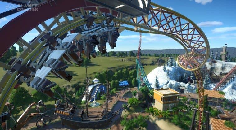Imagen de Planet Coaster: Console Edition muestra sus mecánicas en un nuevo tráiler