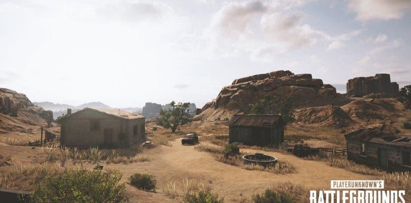 Este es el nuevo mapa desértico de PlayerUnknown's Battlegrounds