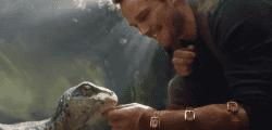 Chris Pratt se ablanda en el primer teaser de Jurassic World: El reino caído