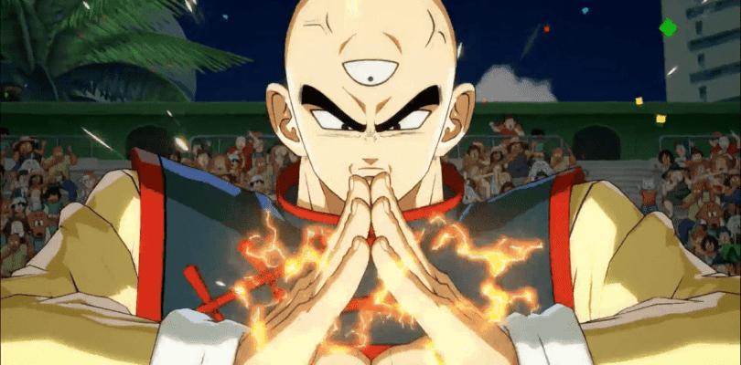 Tien muestra sus técnicas en el nuevo vídeo de Dragon Ball FighterZ