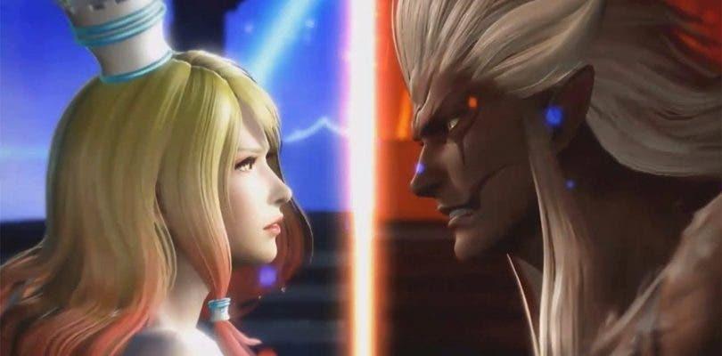 Materia y Spiritus listos para la batalla en Dissidia Final Fantasy NT