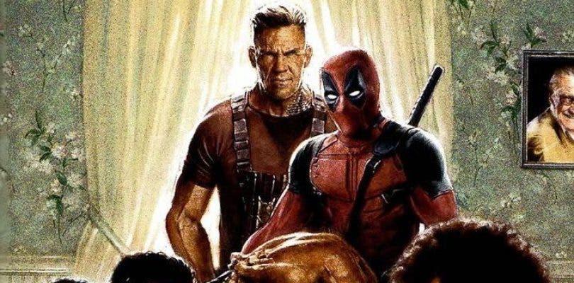 El primer póster de Deadpool 2 reúne al reparto en Acción de Gracias