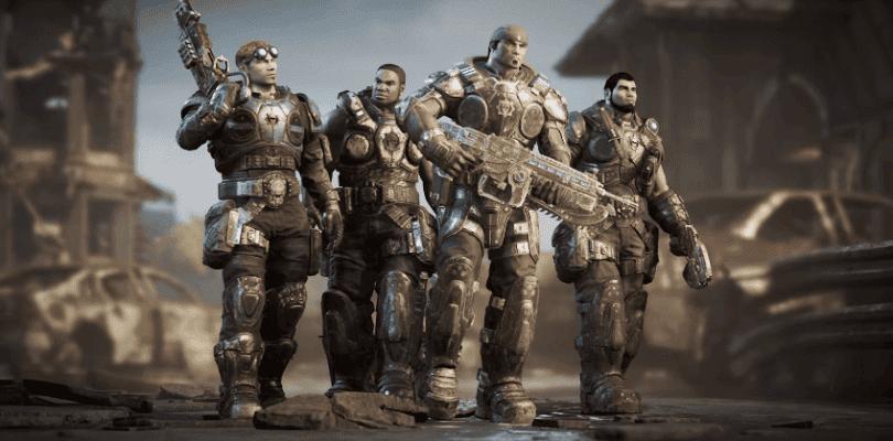 Gears of War 4 se actualizará con cambios en la hammerburst