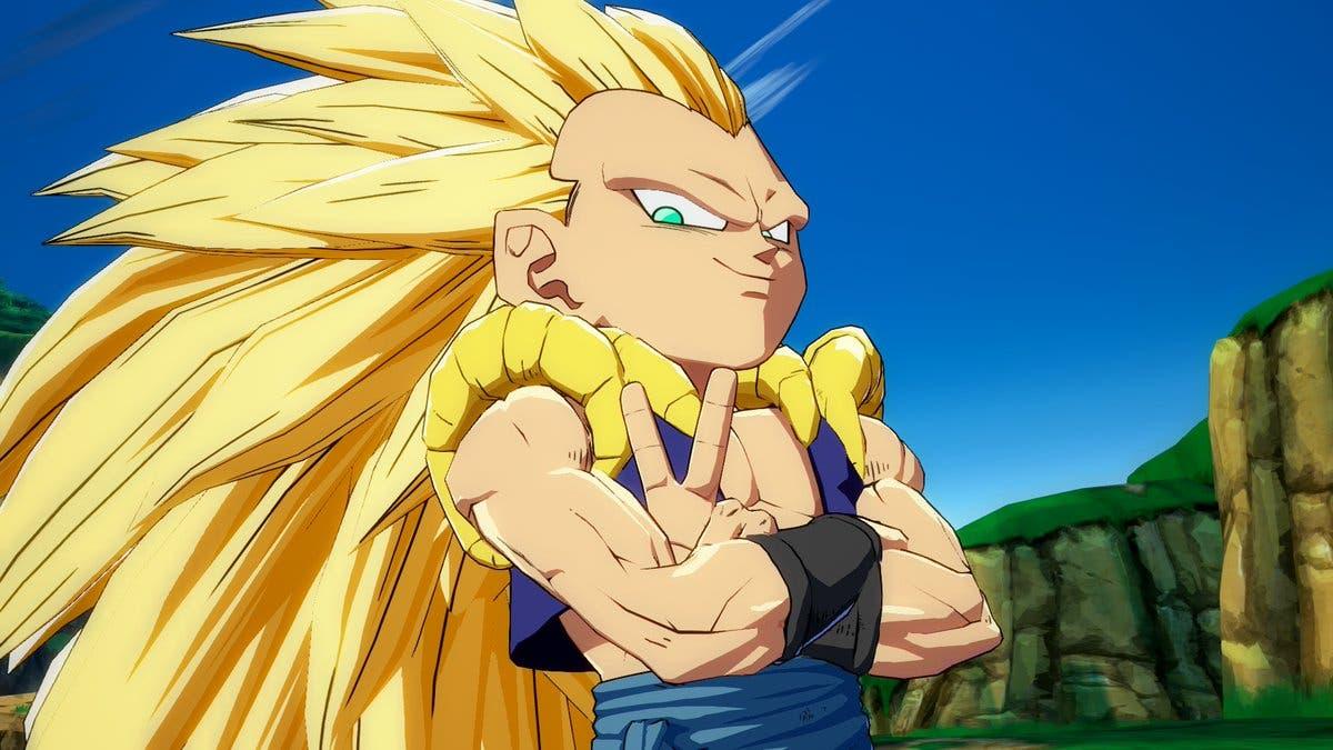 Imagen de Así sería Gotenks con el estilo de Dragon Ball Super: Broly