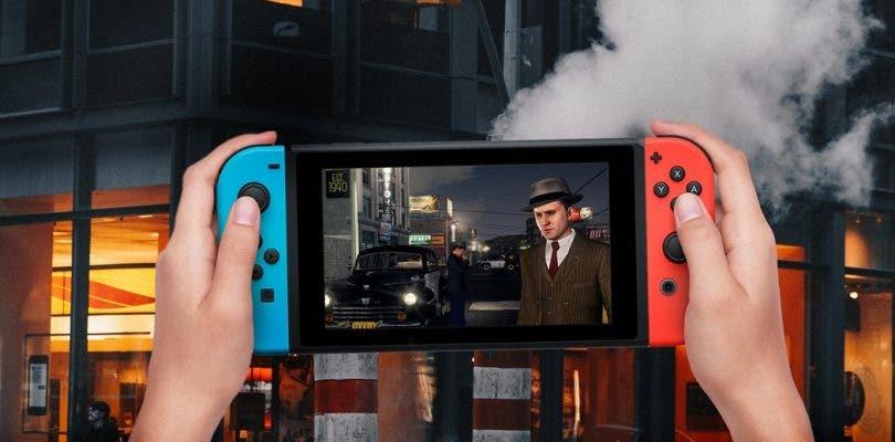 L.A. Noire para Nintendo Switch aparece en un gameplay off-screen