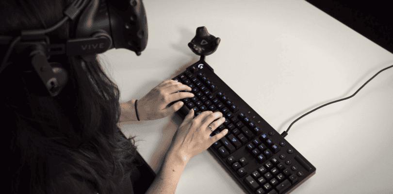 Logitech nos permitirá utilizar un teclado con Bridge y HTC Vive